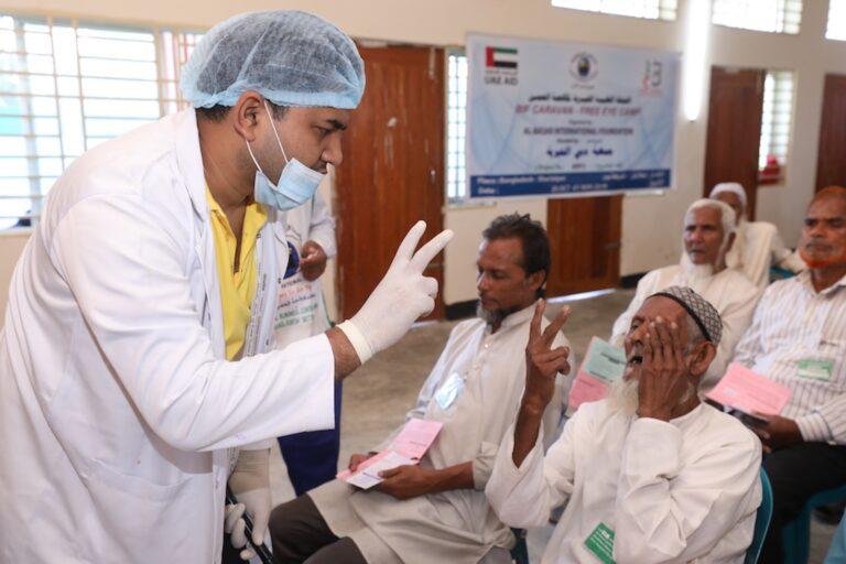 Bangladesh: Abdul gets cataract surgery to see again